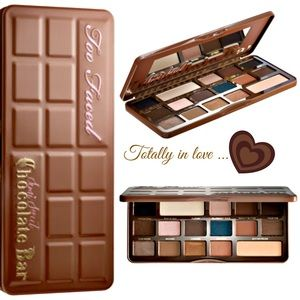 NEW Too Faced Chocolate Semi-Sweet Eyeshadow